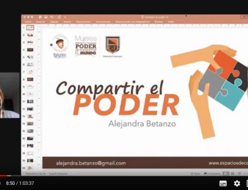 ¿Cómo compartir el poder? (Alejandra Betanzo)